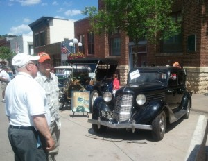 A Driver and a Survivor, as the theme of the show this year advertised. Plenty of hot rods, rat rods and others, too.