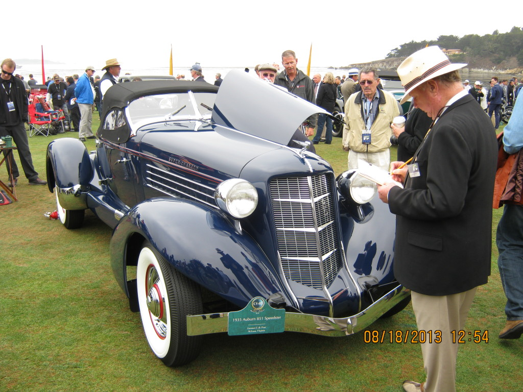 This Dew Motor Cars restoration was awarded third place in the class.