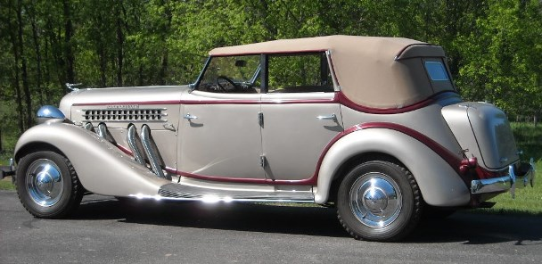 SLDR 1935 SC phaeton May 2011